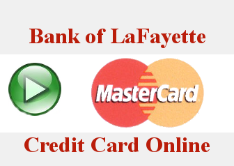 Online Credit Card Account Icon - Click on this icon to link to your Bank of LaFayette Credit Card Online Account